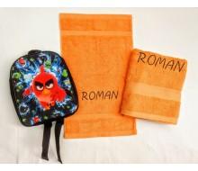 Set de serviettes de natation Angry Birds
