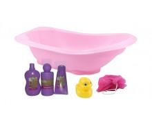 serviette d'hôte Clarysse + set de bain