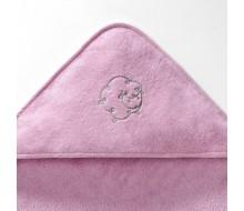 Cape de bain + gant bébé éponge
