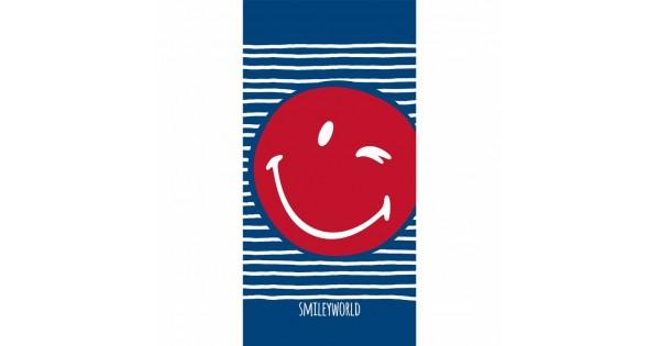 Serviette de bain Smiley Sailor