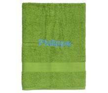 Serviette de bain Fairtrade vert