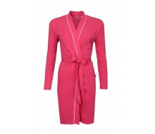 Peignoir kimono roze taille XS