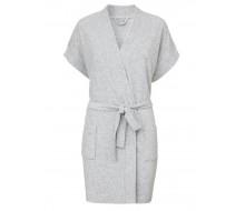 Peignoir de bain kimono gris taille S/M