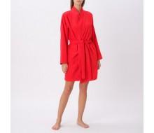 Peignoir de bain kimono rouge taille S/M