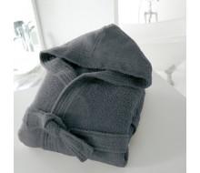 Peignoir de bain gris taille 50/52 (XL)