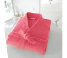 Peignoir de bain kimono rouge grenadine taille 42/44 (M)