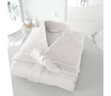 Peignoir de bain kimono blanc taille 34/36 (XS)