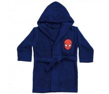 Peignoir à capuche Spiderman 2/4 ans (86/102)