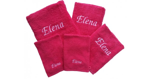 Set de serviettes