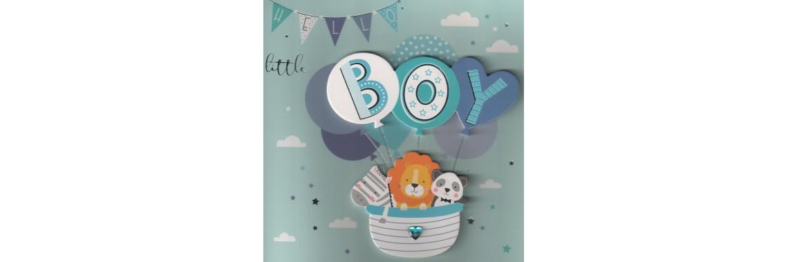 kaartje HELLO little BOY