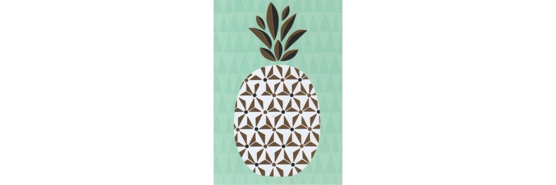 kaartje ananas
