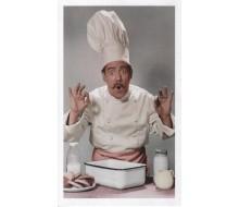 Carte de voeux cuisinier