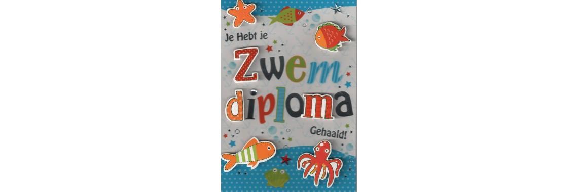 kaartje zwemdiploma