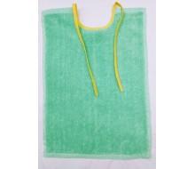 Bavoir avec des rubans vert clair