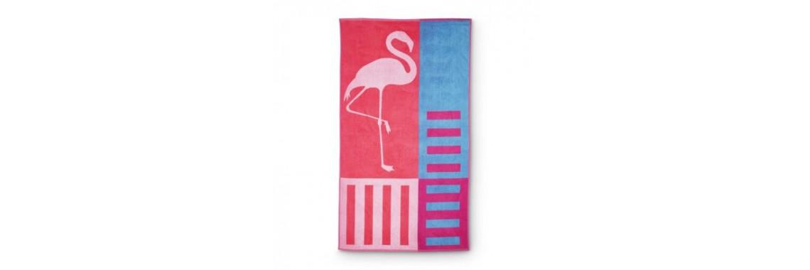 Strandlaken Flamingo