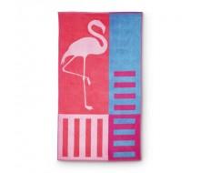 Drap de plage Flamingo