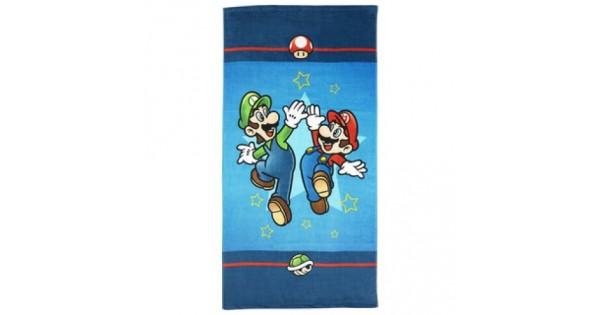 Drap de plage Mario & Luigi