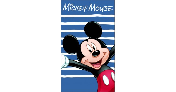 Drap de plage Mickey HAPPY