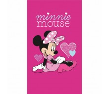 Drap de plage Minnie Heart
