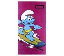 Drap de plage Schtroumpf Surf