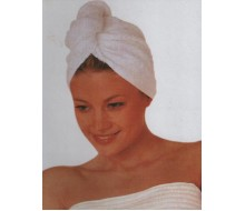 Turbie Towel blanc