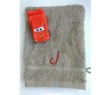 Gant de toilette + Cars