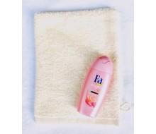 Gant de toilette ivoire + gel douche Fa (50 ml)