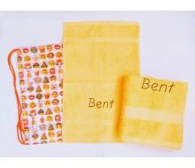 Set de serviettes de natation Emoji white