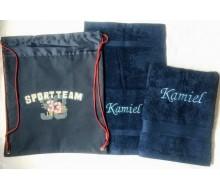 Set de serviettes de natation Sportteam Kickers