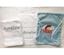 Set de serviettes de natation Vans Rainicorn